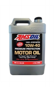 Моторное масло AMSOIL Premium Protection Synthetic Motor Oill SAE 10W-40, 3.78л