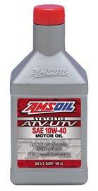 Масло моторное AMSOIL Synthetic ATV/UTV Motor Oil SAE 10W-40 (0,946л)