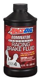 AMSOIL Жидкость тормозная DOMINATOR DOT 4 Synthetic Racing Brake Fluid (0,355л)