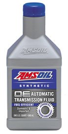 Масло трансмиссионное AMSOIL OE Synthetic Fuel-Efficient Automatic Transmission Fluid (ATF) (0,946л)