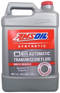 Масло трансмиссионное AMSOIL OE Synthetic Multi-Vehicle Automatic Transmission Fluid (ATF) (3,78л)