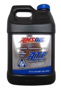 Масло трансмиссионное AMSOIL Signature Series Fuel-Efficient Synthetic Automatic Transmission Fluid (ATF) (9.46л)