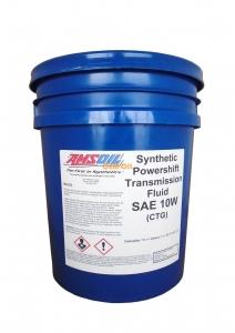 Масло трансмиссионное AMSOIL Synthetic Powershift Transmission Fluid SAE 10W (18,9л)