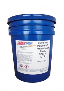 Масло трансмиссионное AMSOIL Synthetic Powershift Transmission Fluid SAE 30W (18,9л)