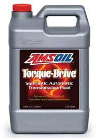 Масло трансмиссионное AMSOIL Torque-Drive Synthetic Automatic Transmission Fluid (ATF) (3,78л)