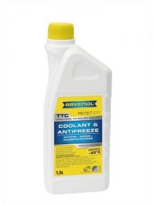 Антифриз RAVENOL TTC Traditional Technology Coolant Premix готовый жёлтый (1,5л)