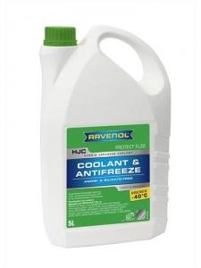 Антифриз RAVENOL HJC Hybrid Japanese Coolant Premix -40°C готовый зеленый (5л)