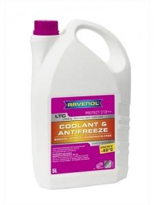 Антифриз RAVENOL LTC Lobrid Technology Coolant Premix -40° C12++ готовый лиловый (5л)