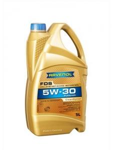 Моторное масло RAVENOL FDS SAE 5W-30, 5л