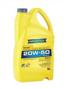 Моторное масло RAVENOL Formel Extra SAE 20W-50 SF-CD, 5л