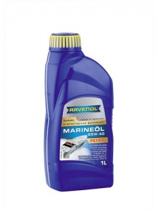 Масло моторное RAVENOL Marineoil PETROL 25W-40 synthetic (1л) new