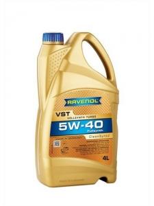 Моторное масло RAVENOL VollSynth Turbo VST SAE 5W-40, 4л