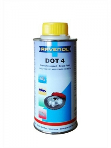 RAVENOL Жидкость тормозная DOT-4 (0,25л)