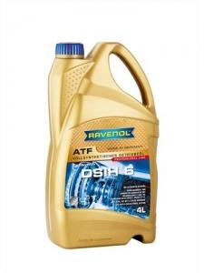 Масло трансмиссионное RAVENOL ATF DSIH 6 (4л) new