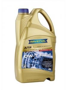 Масло трансмиссионное RAVENOL ATF DW-1 Fluid (4л) new