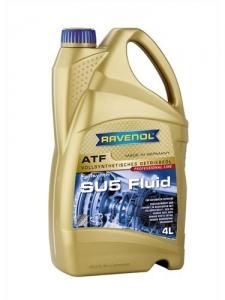 Масло трансмиссионное RAVENOL ATF SU5 Fluid (4л) new