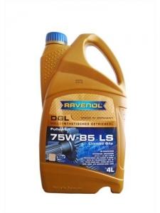 Масло трансмиссионное RAVENOL DGL SAE 75W-85 (4л)