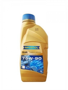 Масло трансмиссионное RAVENOL RHP Racing High Performance Gear SAE 75W-90 (1л) new