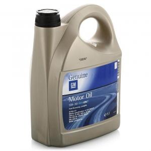 Моторное масло General Motors Dexos2 5W-30, 5л
