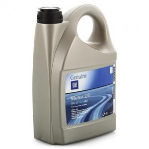 Моторное масло General Motors Dexos2 5W-30, 4л