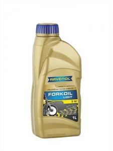 Масло вилочное RAVENOL Fork Oil Light 5W (1л)
