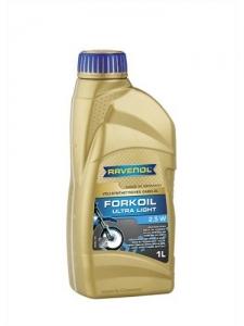 Масло вилочное RAVENOL Fork Oil Ultra Light 2,5W (1л)