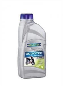 Масло моторное RAVENOL Scooter 2-Takt Teilsynt (1л)