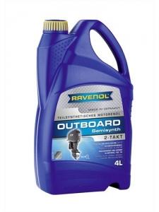 Масло моторное RAVENOL Outboardoel 2T teilsynth. ( 4л) new