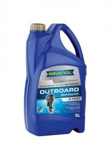 Масло моторное RAVENOL Outboardoel 2T teilsynth. ( 5л) new
