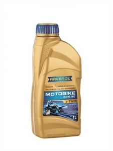 Масло моторное RAVENOL Motobike V-Twin SAE 20W-50 Fullsynth (1л)