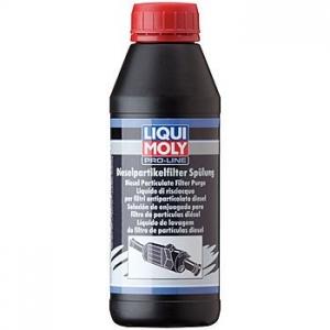 LIQUI MOLY Профессиональная финишная промывка дизельного сажевого фильтра Pro-Line Diesel Partikelfilter Spulung (500мл)
