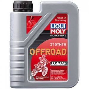 Масло моторное LIQUI MOLY Motorbike 2T Synth Offroad Race (1л)