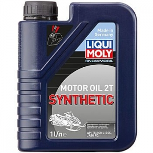 Масло моторное LIQUI MOLY Snowmobil Motoroil 2T Synthetic (1л)