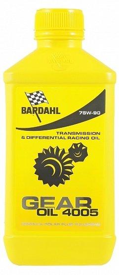 Масло трансмиссионное BARDAHL GEAR OIL 4005 SYNT 75W-90 (1л)