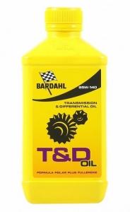 Масло трансмиссионное BARDAHL T&D OIL 85W-140 (1л)