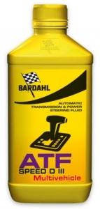 Масло трансмиссионное BARDAHL ATF SPEED D III - MULTIVEHICLE (1л)
