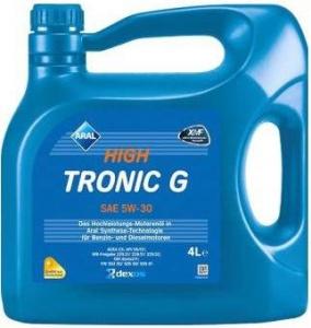 ARAL Масло моторное синтетическое HIGHTRONIC G 5W-30, 4л