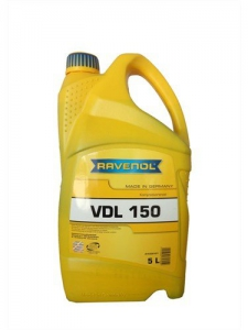 Масло компрессорное RAVENOL Kompressorenoel VDL 150 (5л) new
