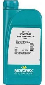 Масло трансмиссионное MOTOREX GEAR OIL UNIVERSAL SAE 80W-90 GL-5 (1л)
