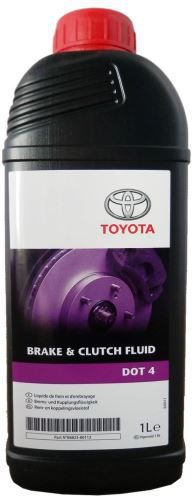 Toyota Жидкость тормозная DOT4 (1л)