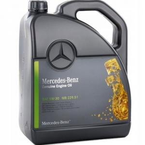 Моторное масло Mercedes-Benz 5W-30 229.51, 5л