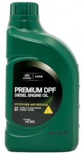 Моторное масло Hyundai Premium DPF Diesel 5W-30, 1л