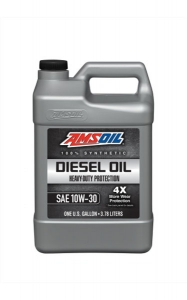 Моторное масло AMSOIL Heavy-Duty Synthetic Diesel Oil SAE 10W-30, 3.78л
