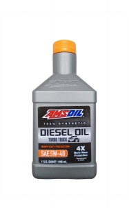 Моторное масло AMSOIL Heavy-Duty Synthetic Diesel Oil SAE 5W-40, 0.946л