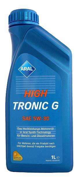 Моторное масло ARAL HighTronic G SAE 5W-30, 1л