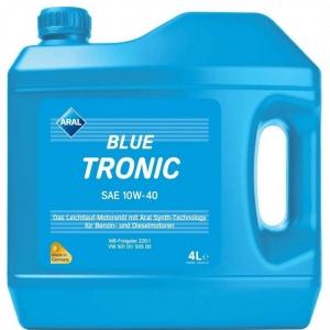 Моторное масло ARAL BlueTronic SAE 10W-40, 4л