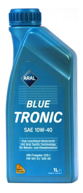 Моторное масло ARAL BlueTronic SAE 10W-40, 1л