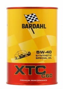 Моторное масло BARDAHL XTC C60 5W-40, 1л