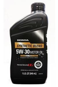 Моторное масло Honda Synthetic Blend 5W-30 SN, 0.946л