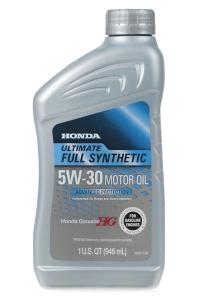 Моторное масло Honda HG Ultimate 5W-30, 0.946л
